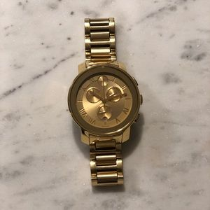 Men's Movado Bold Watch in Yellow Gold